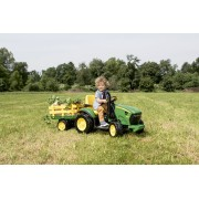 Trator elétrico John Deere Ground Force 12volts - Pegperego