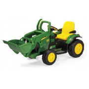 Trator eletrico John Deere Ground Loader 12volts - Pegperego