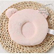 Travesseiro para moleira do bebê Rosa