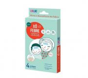 Xo Febre - compressas refrescantes para alivio da febre - Likluc