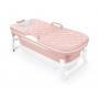 Banheira dobrável rosa grande 51x111x59 cm - Baby pil