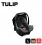 Bebê conforto Tulip Salsa 3 Asphalt Diamante - Abc Design