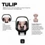 Bebê conforto Tulip Salsa 4 Rose Gold Diamond - Abc Design