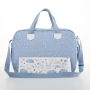 Bolsa maternidade Azul Bunny - Just Baby