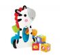 Brinquedo Zebra com Blocos Surpresa - Fisher Price