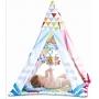 Cabana Infantil e Tapete de Atividade Musical Amarela - Color Baby