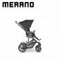 Carrinho com bebê conforto Merano Black - Abc Design