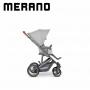 Carrinho com bebê conforto Merano Grey - Abc Design