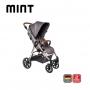Carrinho de bebê Mint Asphalt Diamante até 22 kg - Abc Design