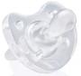 Chupeta de silicone soft Transparente Chicco - (12+ Meses)