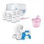 Kit Avent pétala com 9 peças rosa - Philips Avent