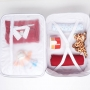 Kit bolsa maternidade com mala e mochila Cinza Bunny - Just Baby