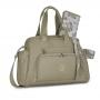 Kit bolsa maternidade com mochila térmica e Necessaire Coleção baby caqui - Masterbag Baby
