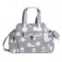 Kit Bolsa maternidade com Mochila Urban Bubble Cinza - Masterbag Baby