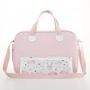 Kit bolsa maternidade e mochila Rosa Bunny - Just Baby