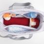 Kit bolsa maternidade e mochila Térmica Azul Bunny - Just Baby