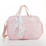 Kit bolsa maternidade e mochila Térmica Rosa Bunny - Just Baby