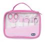 Kit de higiêne para bebês Happy Hands rosa - Chicco
