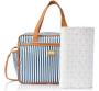 Kit de mala maternidade e bolsa lollipop azul - Hug