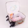 Kit mala de maternidade com rodinha e bolsa Liverpool - Just baby