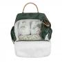 Kit mala de maternidade com rodinha e  mochila Safari - Masterbag Baby