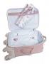 Kit mala maternidade de rodinha com bolsa Térmica Anne Flora - Masterbag Baby