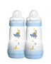 Kit mamadeira MAM Easy Start azul 260ML - MAM