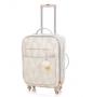 Kit mochila maternidade e Mala de rodinha Luxor azul - Lequiqui