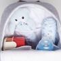 Mochila maternidade Cinza Bunny - Just Baby