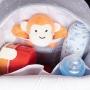 Mochila maternidade térmica Cinza Bunny - Just Baby