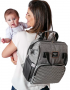 Mochila maternidade Urban Cinza - Batistela Baby