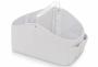 Porta fraldas e organizador de higiêne para bebês Branco - Lequiqui