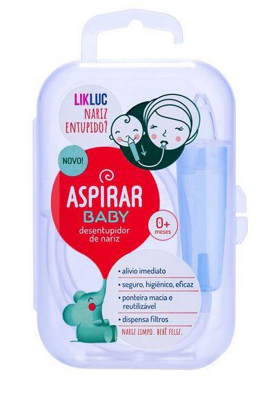 Aspirador Nasal para Bebê com Estojo Portátil - Likluc