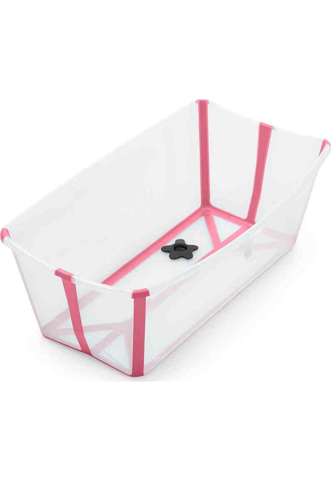 Banheira flexível Transparente rosa - Stokke