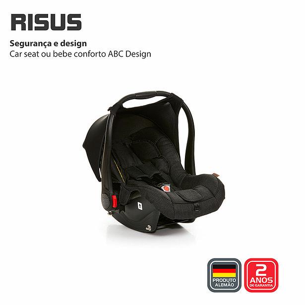 Bebê conforto Risus Piano - Abc Design