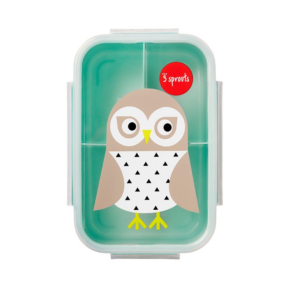 Bento Box Coruja - Porta lanche e comida - 3 Sprouts
