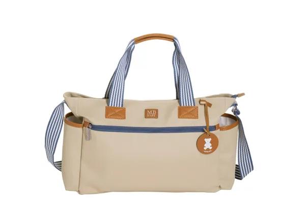 Bolsa de maternidade coleção Classic Marfim - MB Baby
