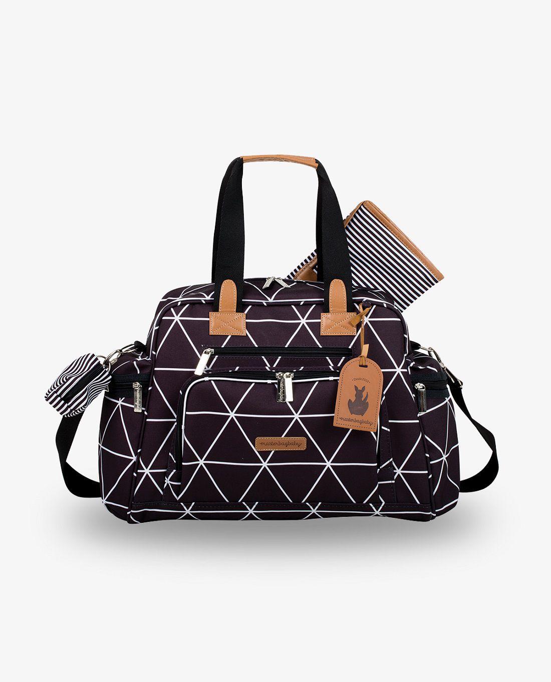 Bolsa de maternidade térmica Everyday Preta Manhattan - Masterbag Baby