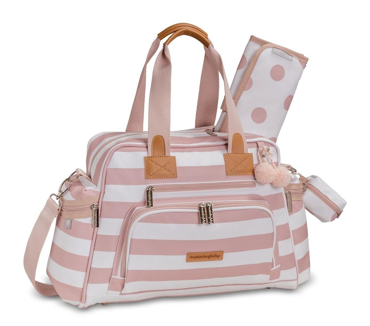 Bolsa de maternidade térmica Everyday Brooklin rosa - Masterbag Baby