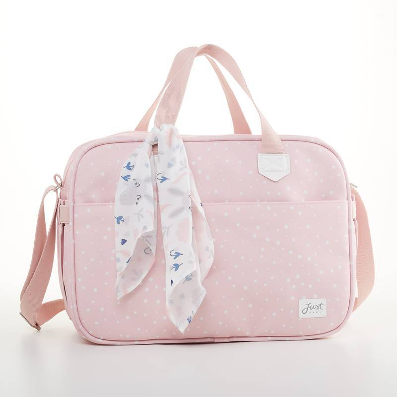 Bolsa maternidade Rosa Bunny - Just Baby