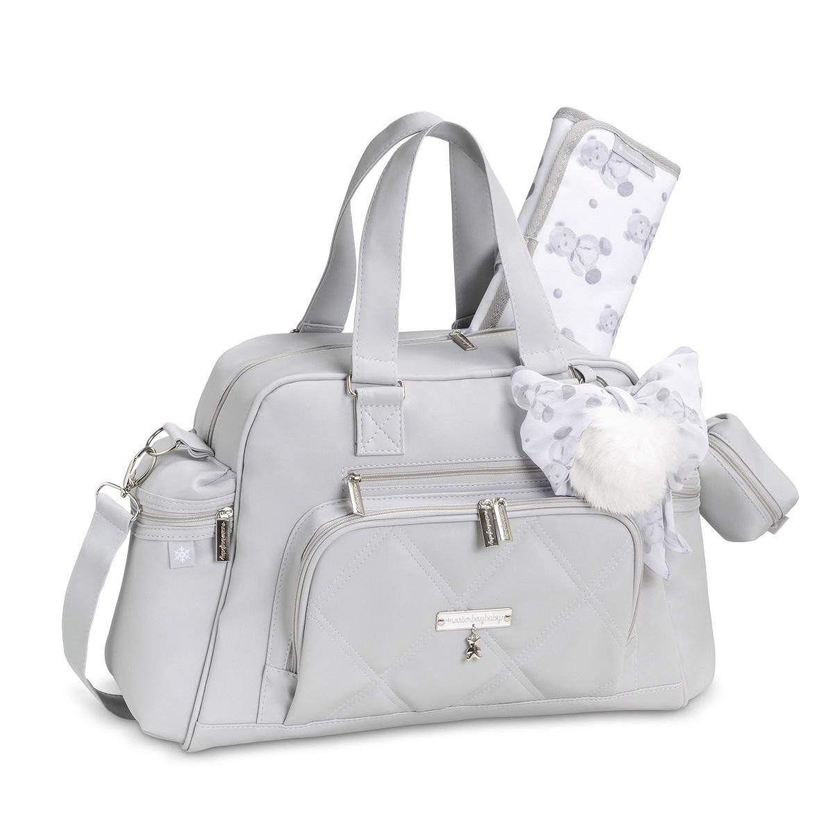 Bolsa maternidade térmica Everyday Urso Cinza - Masterbag Baby