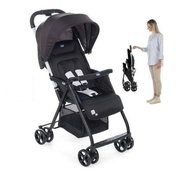 Carrinho de bebê Ohlala black Night até 15 kg - Chicco
