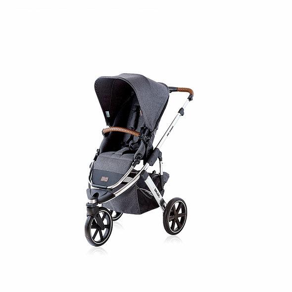 Carrinho de bebê Salsa 3 Asphalt Diamante até 22 kg - Abc Design