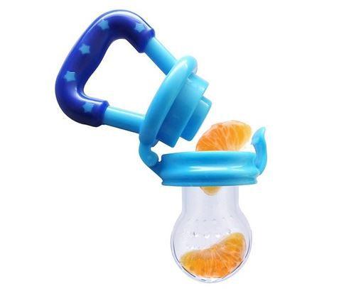 Chupeta de alimentação de frutas Azul