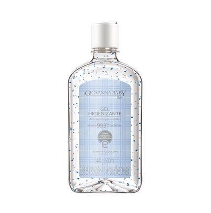 Álcool gel 70% higienizante para as mãos 500ml azul - Giovanna Baby