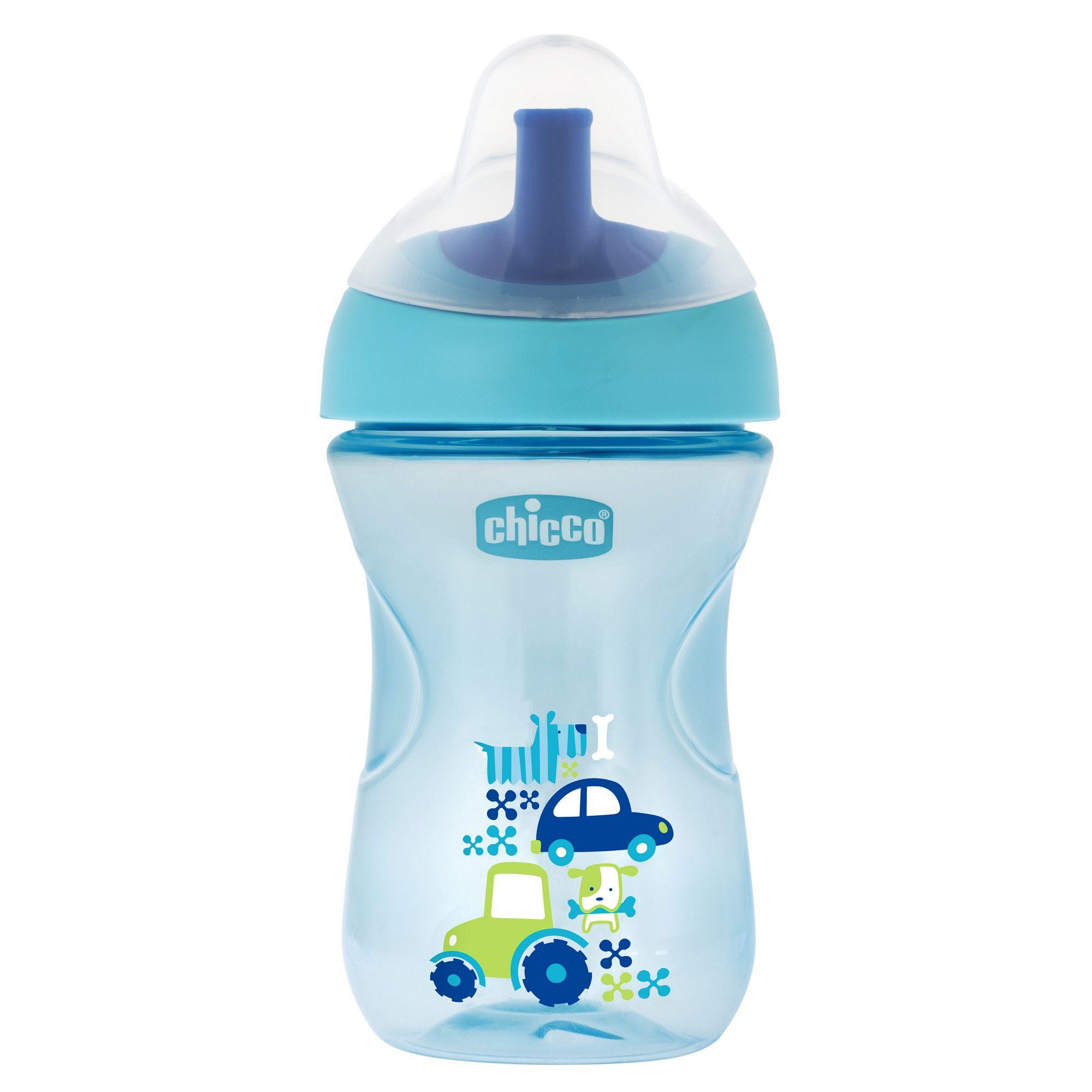 Copo para bebês Advanced Cup 12M+ Azul Claro - Chicco