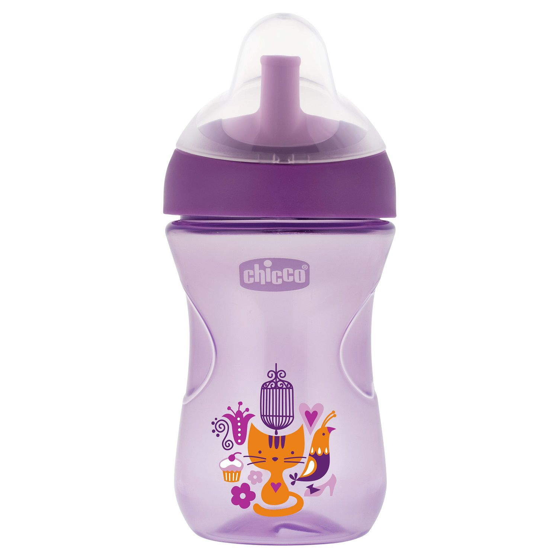 Copo para bebês Advanced Cup 12M+ Lilás - Chicco