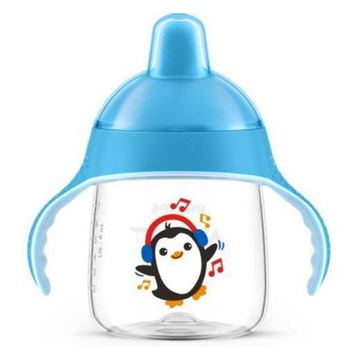 Copo Pinguim 260ml Azul - Philips Avent
