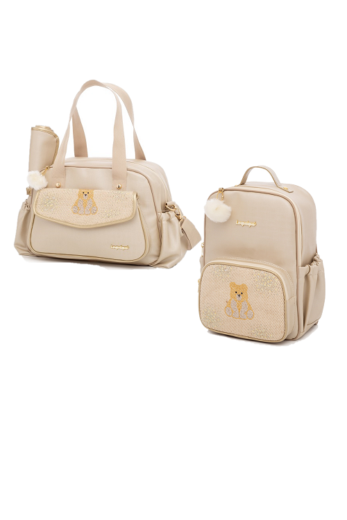 Kit Bolsa de maternidade e mochila Virginia - Lequiqui