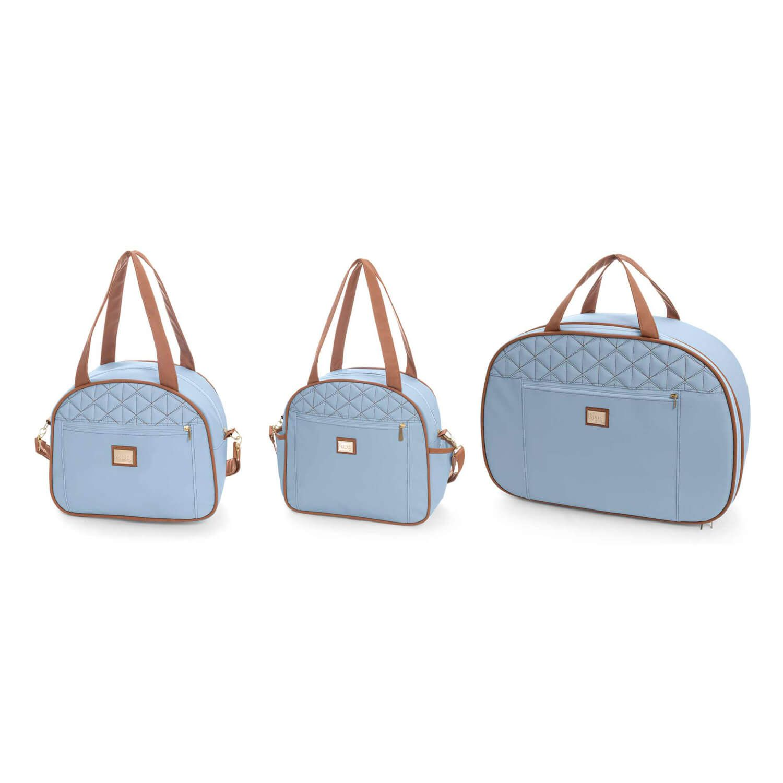 Kit Bolsa maternidade Bombom Azul Bebê - Hug